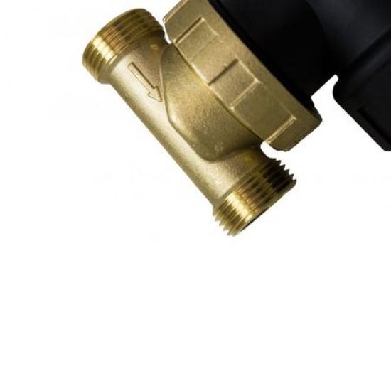 "Filtru anti-magnetita Chemstal CLEANEX MAG HF1 3/4"" (22 mm) + robineti de montaj si solutie de curatare"
