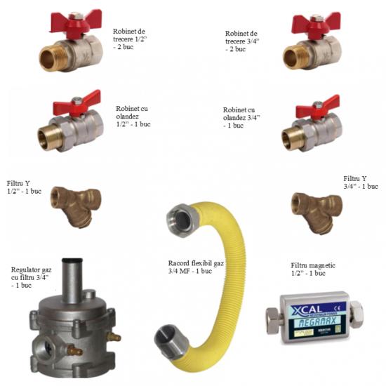 Pachet accesorii instalare centrala termica - COMPLET