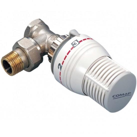 "Set Robinet termostatat 1/2"" + Cap termostatic + Robinet retur 1/2"" Comap"