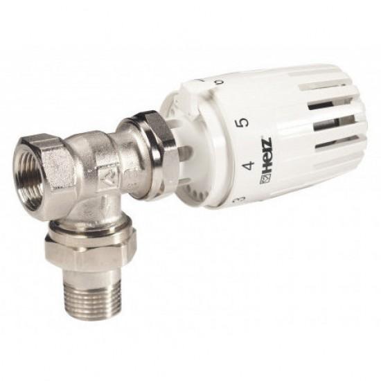 "Set Robinet termostatat coltar 1/2"" + Cap termostatic Project Herz"