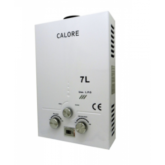 Incalzitor instant Calore TN 7 cu functionare GPL sau GN, tiraj natural