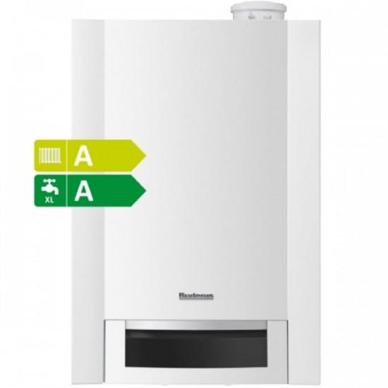 Centrala termica in condensare Buderus Logamax Plus GB172-24T50 - 24 KW, boiler incorporat 48 litri