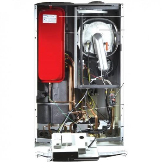 Centrala termica in condensare De Dietrich MPX 28/33 BIC 28 kW, boiler incorporat 40 litri