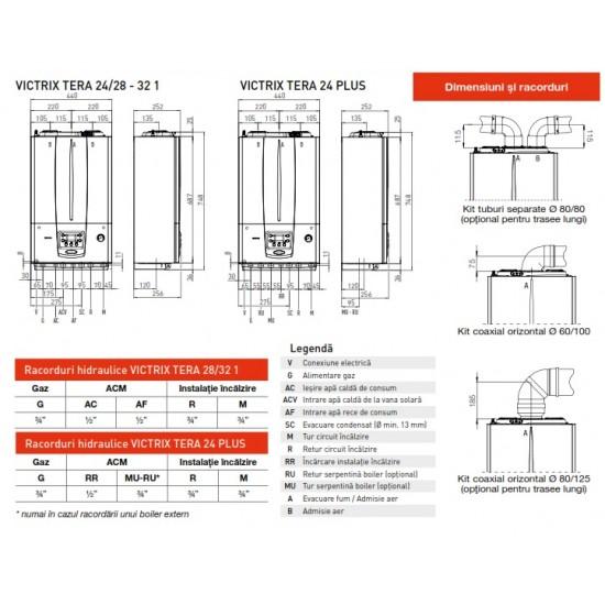 Centrala termica in condensare Immergas Victrix Tera 35/38 1 - 35 kW