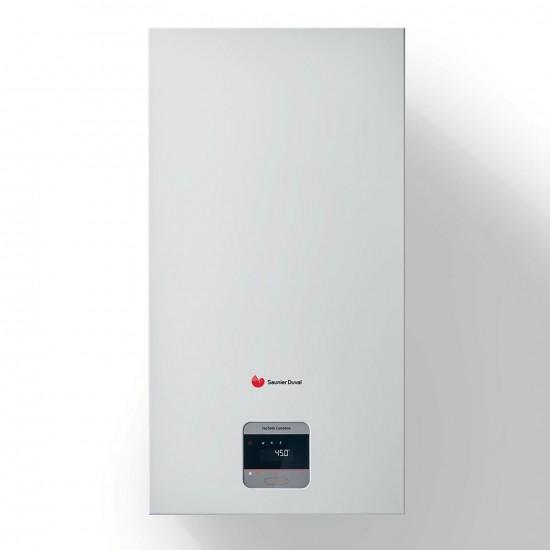 Centrala termica in condensare Saunier Duval IsoTwin Condens T 26 CS/1, boiler incorporat 42 litri