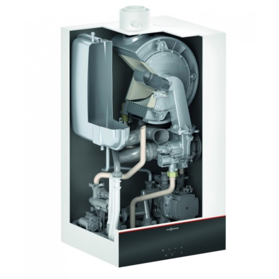 Centrala termica in condensare Viessmann Vitodens 100-W B1HF 25 kW, doar incalzire, WiFi