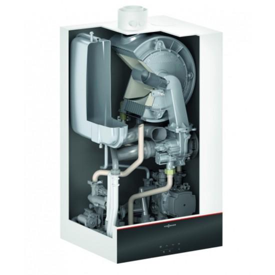 Centrala termica in condensare Viessmann Vitodens 100-W B1HF 32 kW, doar incalzire, WiFi