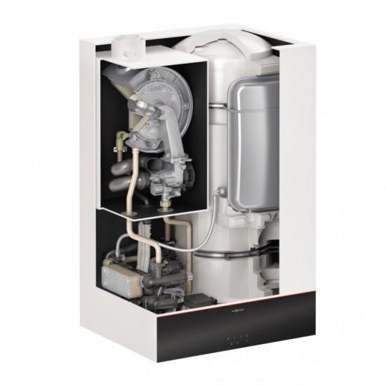 Centrala termica in condensare Viessmann Vitodens 111-W B1LF 32 kW, boiler incorporat 46 litri