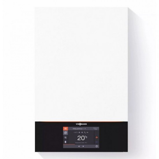 "Centrala termica in condensare Viessmann Vitodens 200-W B2HE 25 kW, cu afisaj tactil color 7"" doar incalzire"