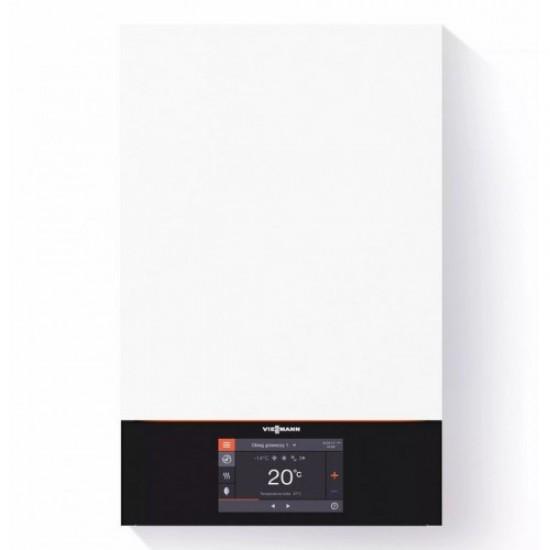 "Centrala termica in condensare Viessmann Vitodens 200-W B2HE 32 kW, cu afisaj tactil color 7"" doar incalzire"