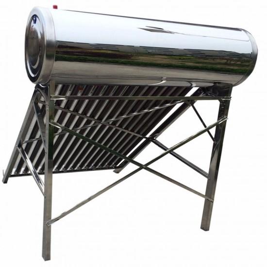 Panou solar nepresurizat, termosifon, boiler inox/inox 65 litri, 8 tuburi, Sontec SP-470-58/1800 - 65/8-C
