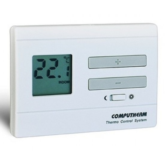 Termostat ambiental cu fir, neprogramabil Computherm Q3