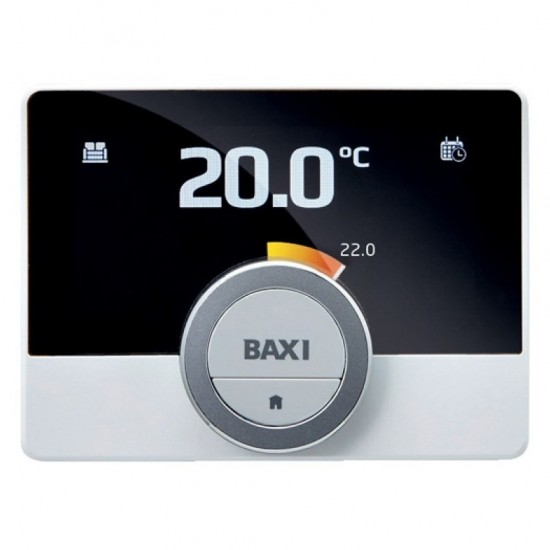 Termostat ambiental cu fir, programabil, modulant, conectare internet Wi-Fi, Baxi MAGO + GTW16, OpenTherm