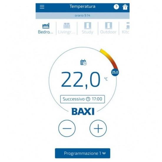 Termostat ambiental cu fir, programabil, modulant, conectare internet Wi-Fi, Baxi MAGO, R-Bus