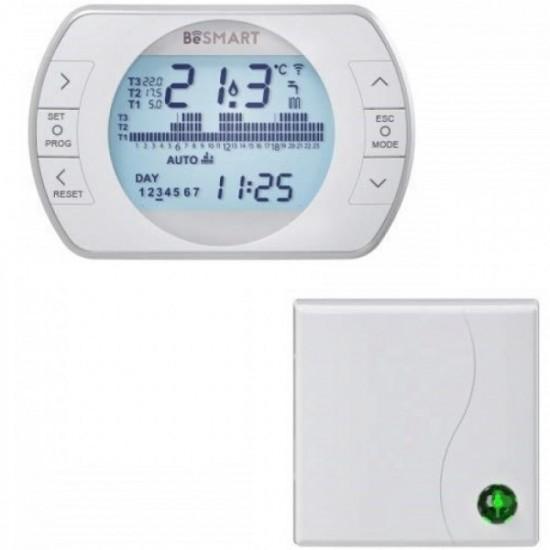 Termostat ambiental wireless, programabil, conectare internet Beretta BeSmart